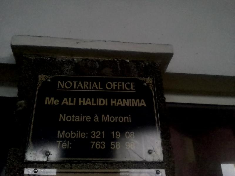 NOTARIAL OFFICE
