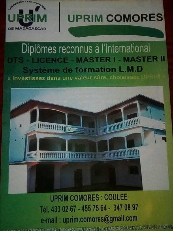 UPRIM Comores