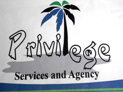 PRIVILEGE SERVICE AND AGENCY