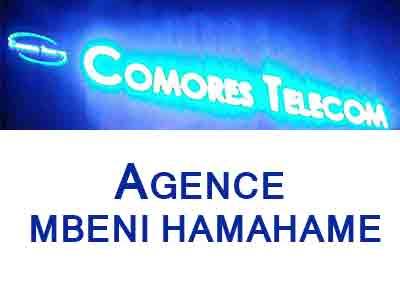 AGENCE COMORES TELECOM - MBENI HAMAHAME