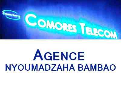 AGENCE COMORES TELECOM  - NYOUMADZAHA MBABAO