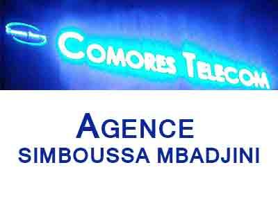 AGENCE COMORES TELECOM - SIMBOUSSA MBADJINI