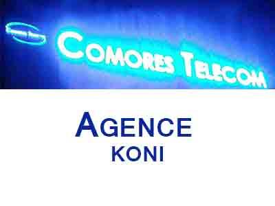 AGENCE COMORES TELECOM KONI