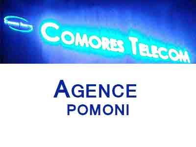 AGENCE COMORES TELECOM POMONI