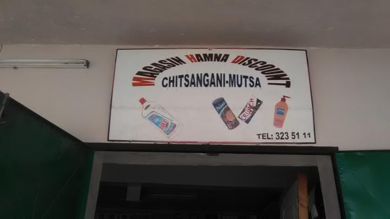 MAGASIN HAMNA DISCOUNT CHITSANGANI-MUTSA