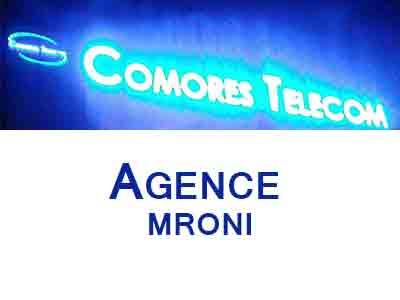 AGENCE COMORES TELECOM MRONI